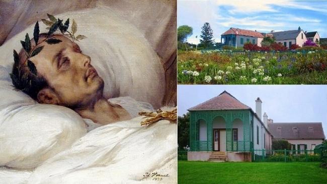 نابليون كما ظهر بعد ساعات من موته بالسرطان منذ 200 عام