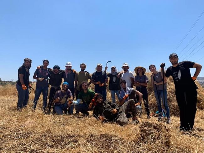 الشباب الفلسطيني والزراعة البيئية وبداية القصة
