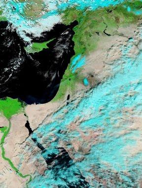 الأقمار الصناعيه اليوم الخميس 17/1/2013