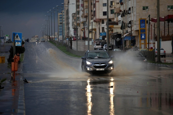 منخفض جوي جديد يؤثر على فلسطين