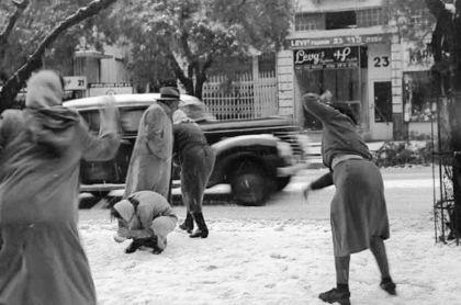 62 عاماً على الثلجة الكبيرة التي البست فلسطين جميعها اللون الأبيض