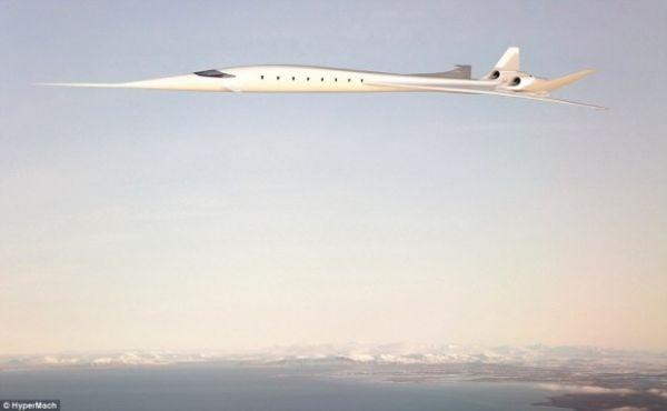 بسرعة تفوق سرعة الصوت بثلاث مرات : طائرة تستطيع الطيران من القاهرة إلى الرياض في ثلث ساعة فقط
