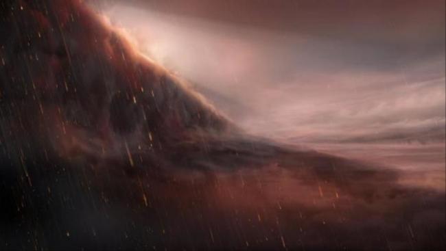 اكتشاف كوكب شديد الحرارة تمطر سماؤه حديدا